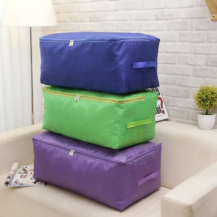 2件包郵收納袋牛津布整理袋加厚手提衣物收納箱衣服被子儲物袋子