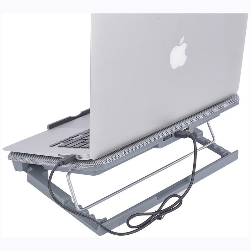 倍晶笔记本散热器底座适用联想华为惠普15.6寸电脑14苹果小米支架13.3戴尔游戏本静音降温板垫风冷外设排风扇