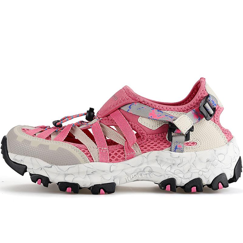 悍途户外沙滩鞋女夏徒步登山鞋男速干涉水溯溪鞋女包头运动凉鞋女