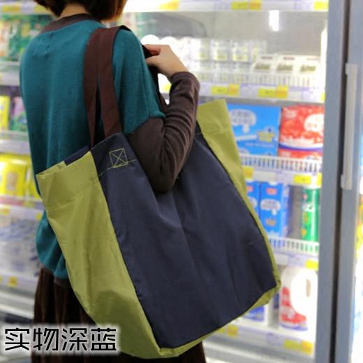 超大容量加厚可折叠超市购物袋 购物包 高强度环保袋买菜袋