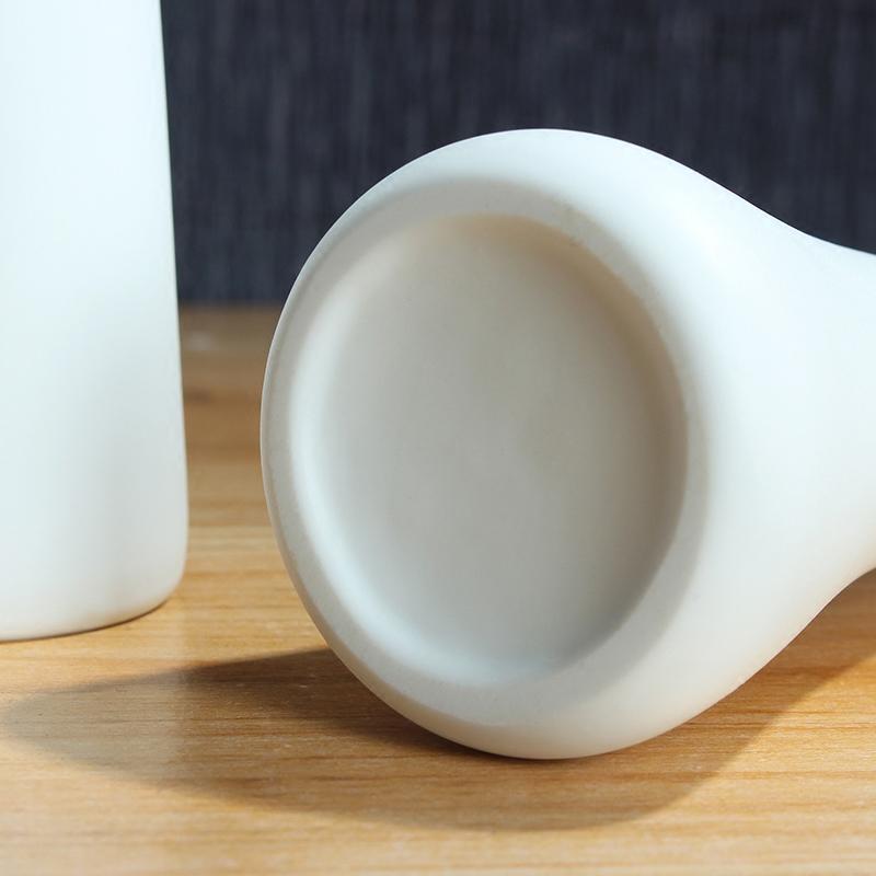 插花器 ins 西餐厅文艺陶瓷小花瓶创意酒店摆件玫瑰艺术小花插北欧