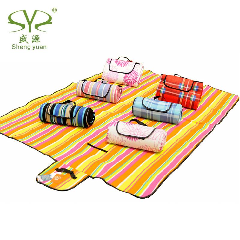 防潮墊加大加厚加寬單雙人防水野營野餐墊ins風野炊地墊戶外裝備