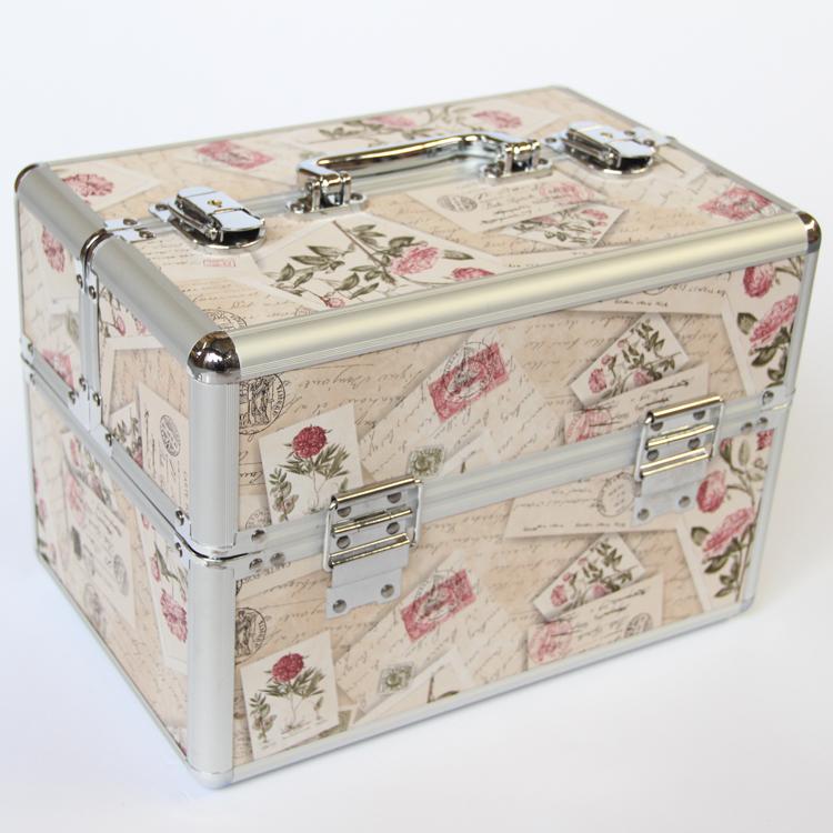 妝百納專業化妝箱化妝包多層紋繡箱化妝盒手首飾盒美甲化妝工具箱
