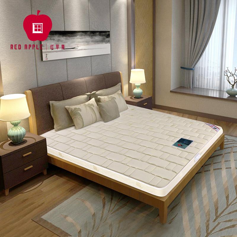 紅蘋果床墊 簡約 簡約I號 鋼網彈簧床墊 正面特硬 反面硬 席夢思