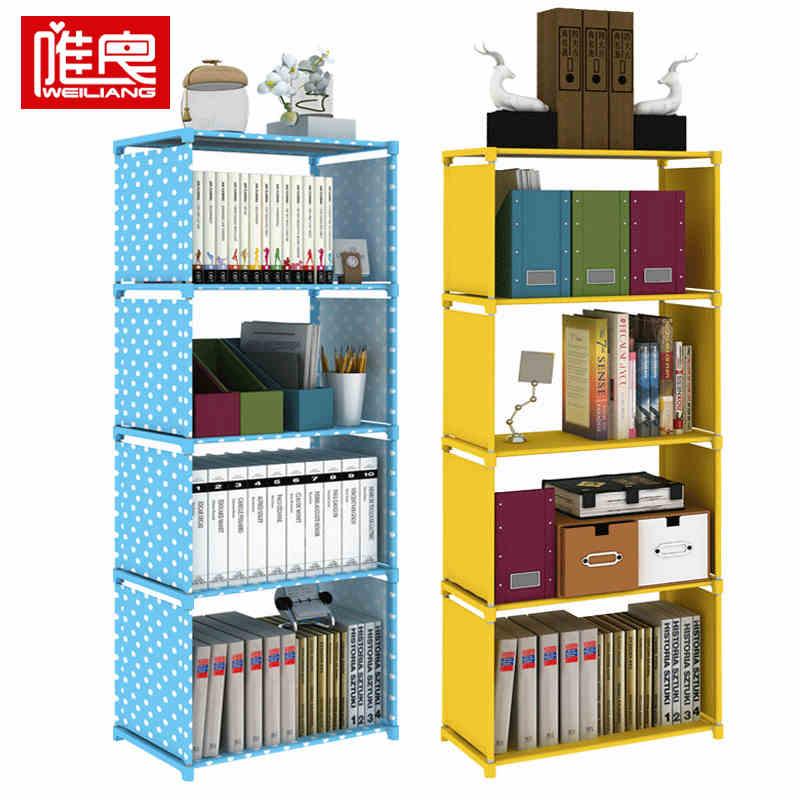 唯良 廚房置物架 收納架 衛生間置物架 組裝書架 多功能置物架