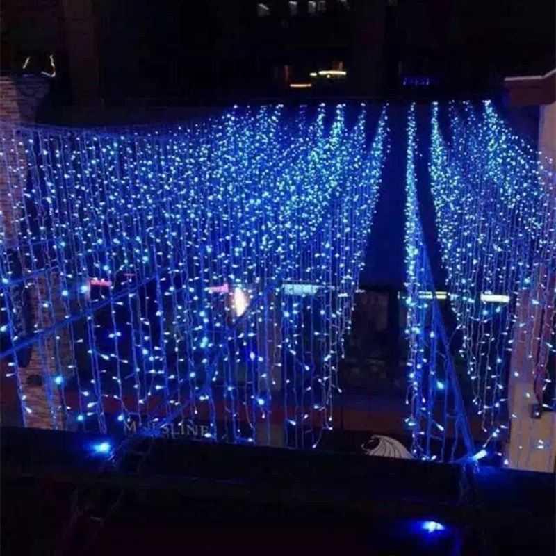 钱康节日新年led窗帘灯彩色冰条灯家庭装修圣诞led彩灯闪灯抖音