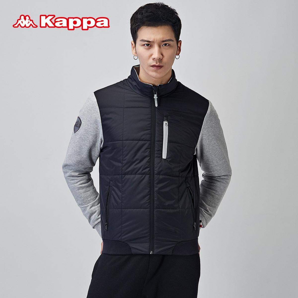 掌櫃推薦KAPPA男士休閒運動服棉服男士貼身保暖外套K0452MM10