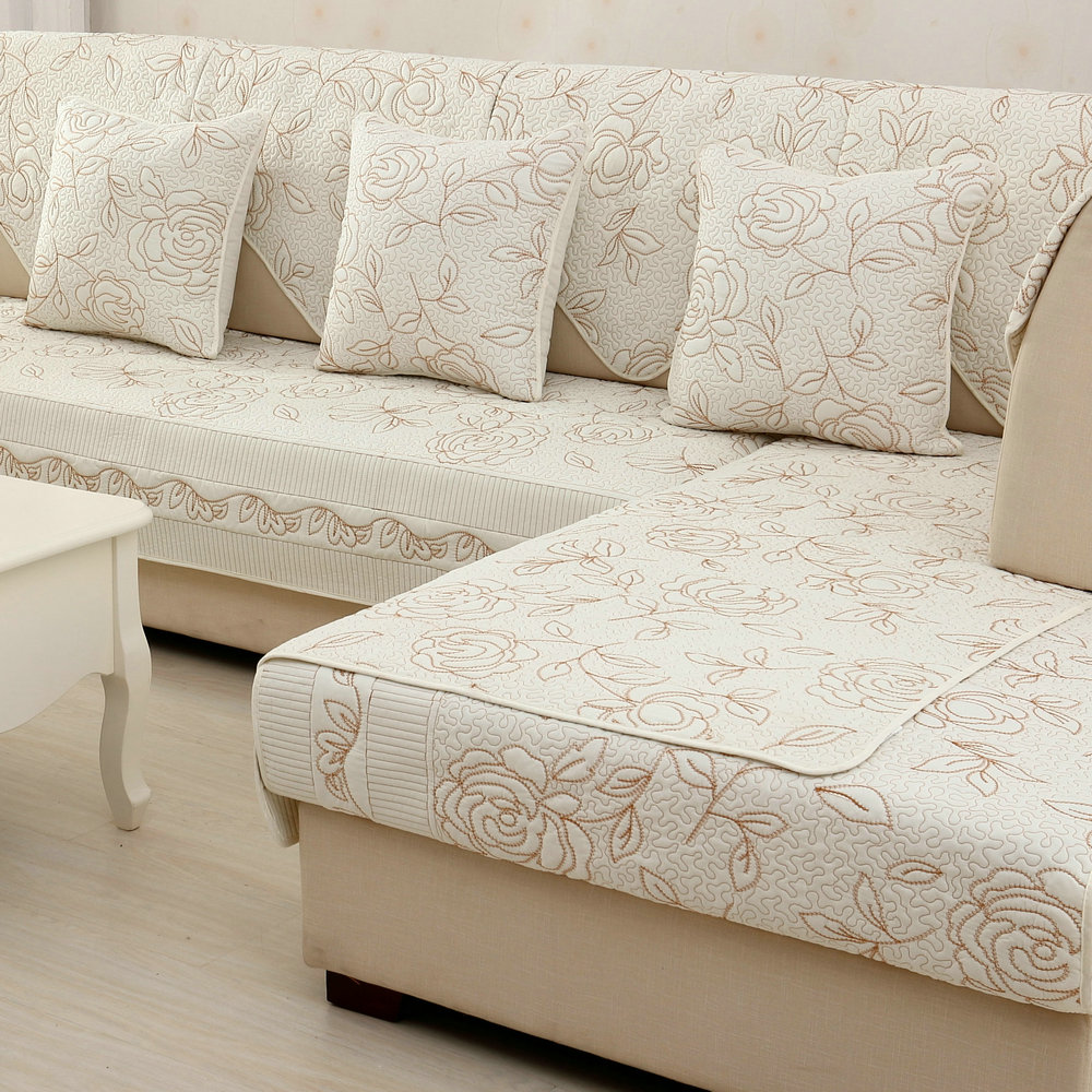 沙发垫布艺坐垫冬季四季通用现代简约沙发套罩沙发靠背巾防滑定做