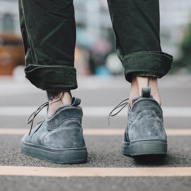 港风板鞋男韩版潮流真皮男鞋夏季潮鞋男士鞋子休闲鞋男百搭棉鞋男