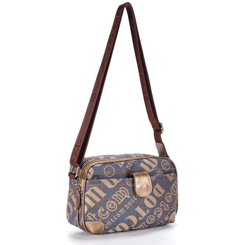 盛裝舞步斜挎包包新款韓版潮流時尚帆布包斜跨包揹包多隔層旅遊包