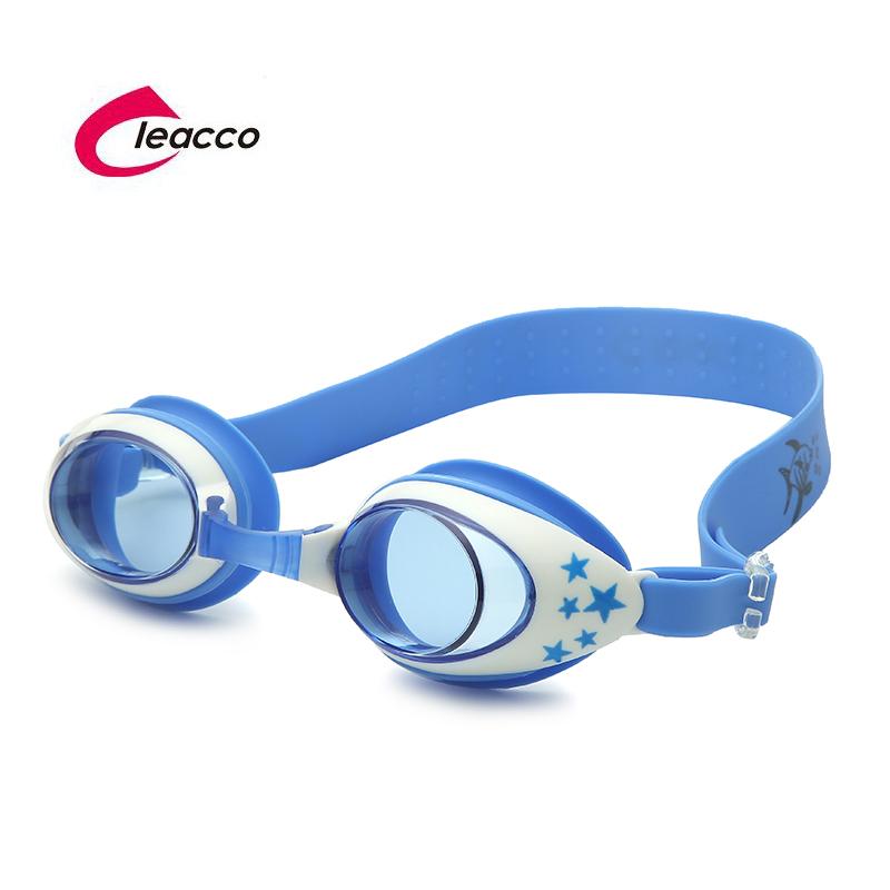 力酷兒童泳鏡防水防霧小孩矽膠寶寶專業游泳裝備男童女童卡通眼鏡