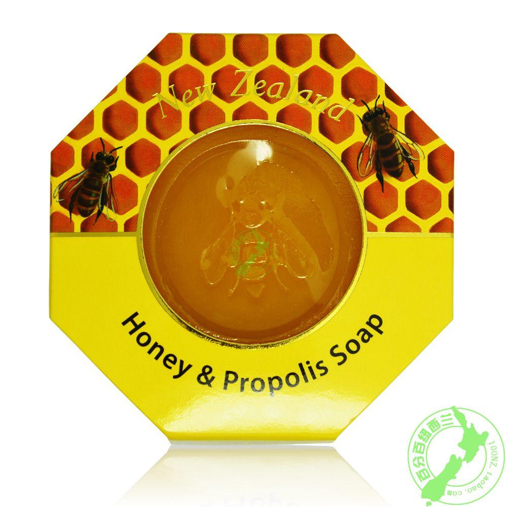 包郵 紐西蘭parrs帕氏麥盧卡蜂蜜蜂膠二合一香皂 沐浴皁 潔面皂