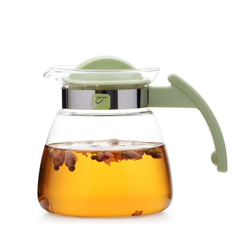 奇高耐熱玻璃水壺 電陶爐壺加熱花茶壺煮茶壺直火壺沖茶泡茶水壺