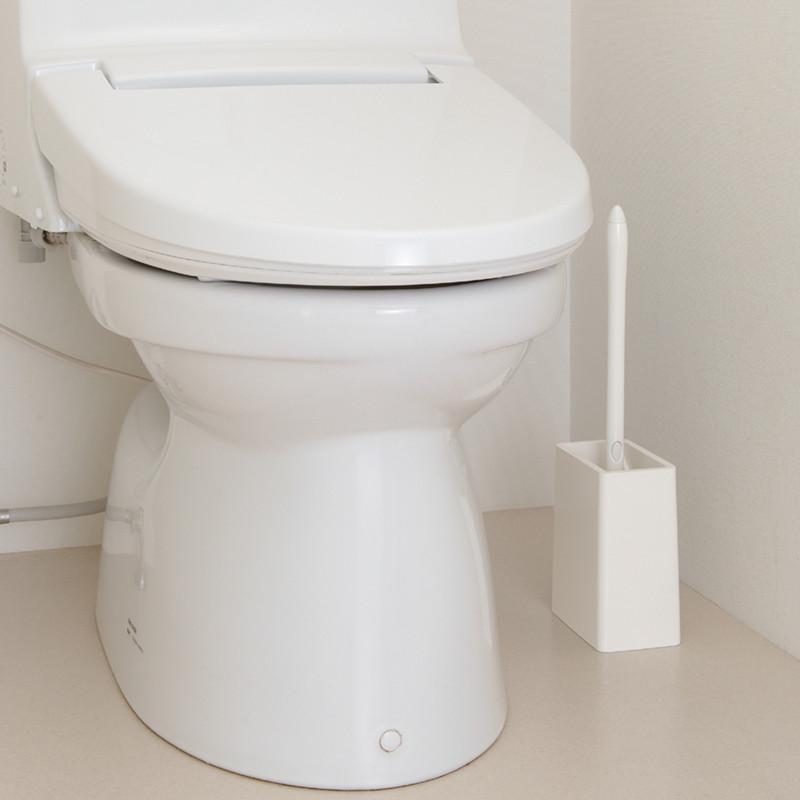 包郵 康多多 satto 馬桶刷 清潔廁所刷 兩件套裝 潔廁刷輕巧 山崎