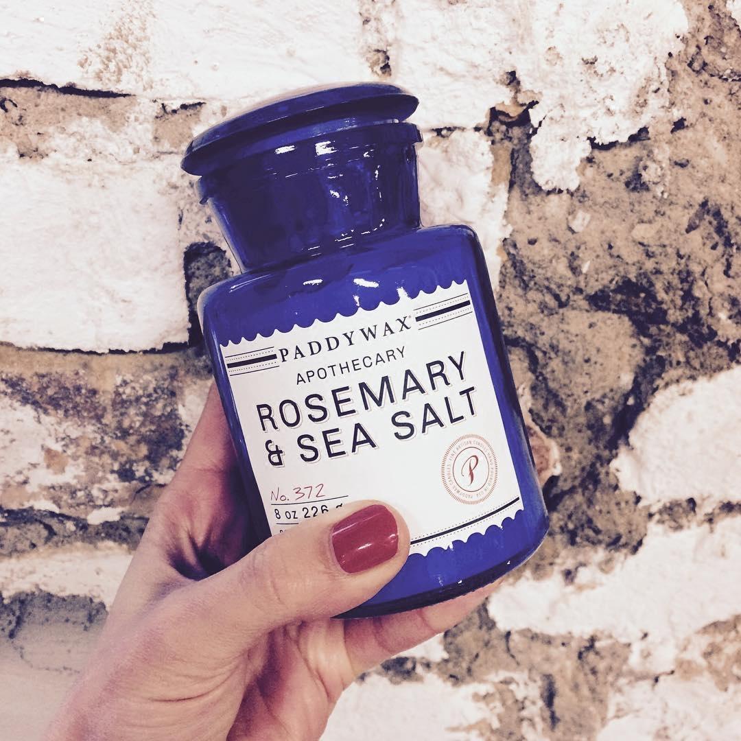 现货美国Paddywax复古水稻蓝药剂师礼物香薰药瓶艺术复古香氛蜡烛