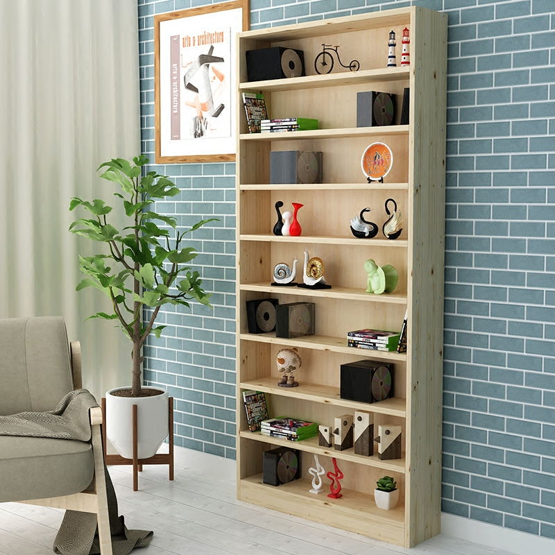 实木cd架dvd柜碟片架落地置物架书架木柜子自由组合简约现代