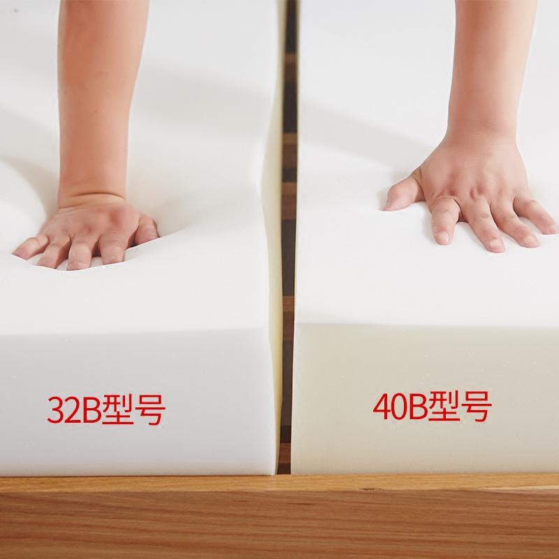 高密度加硬海绵垫记忆棉榻榻米床垫子软垫1.5m1.8m床学生宿舍垫被【图4】