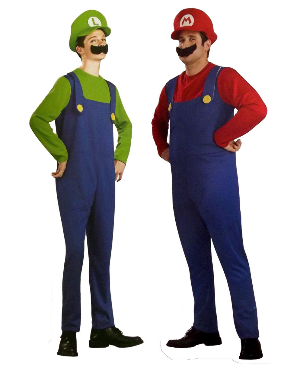 Adult Halloween Masquerade Costume Adult Clothes Cosplay Costume Male  Costume Super Mario