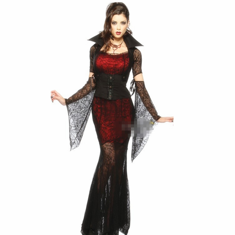 buy ah nan na vampire banshee spider witch dress up christmas dress halloween costumes female witch queen fitted dress in cheap price on malibabacom - Christmas Dress Up