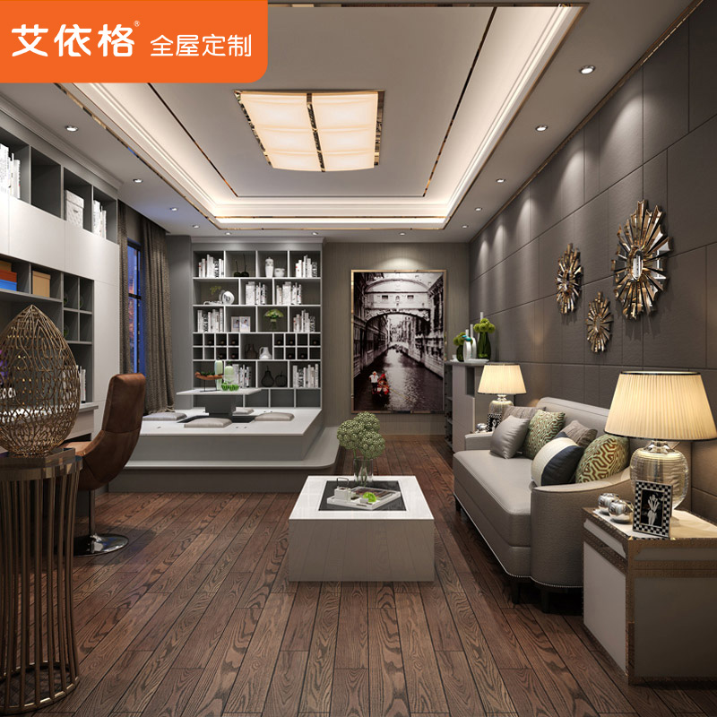 Ai Yi Gretl Customized Bookcase Library Furniture Custom Closet Custom  Tatami Whole House Custom Furniture