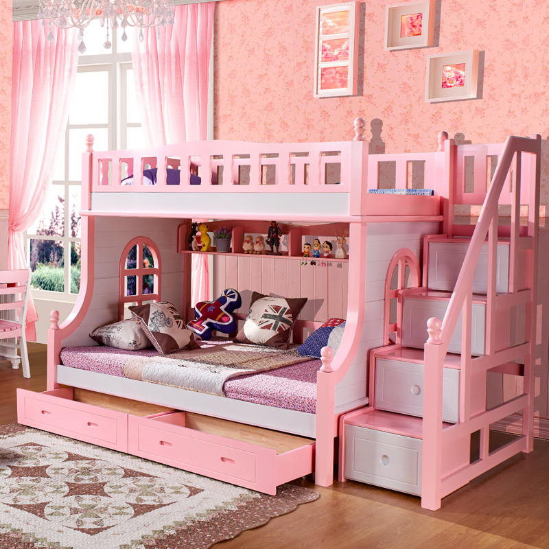 Buy All Solid Wood Bed Bunk Bed Children 39 S Bed Girl Students Up