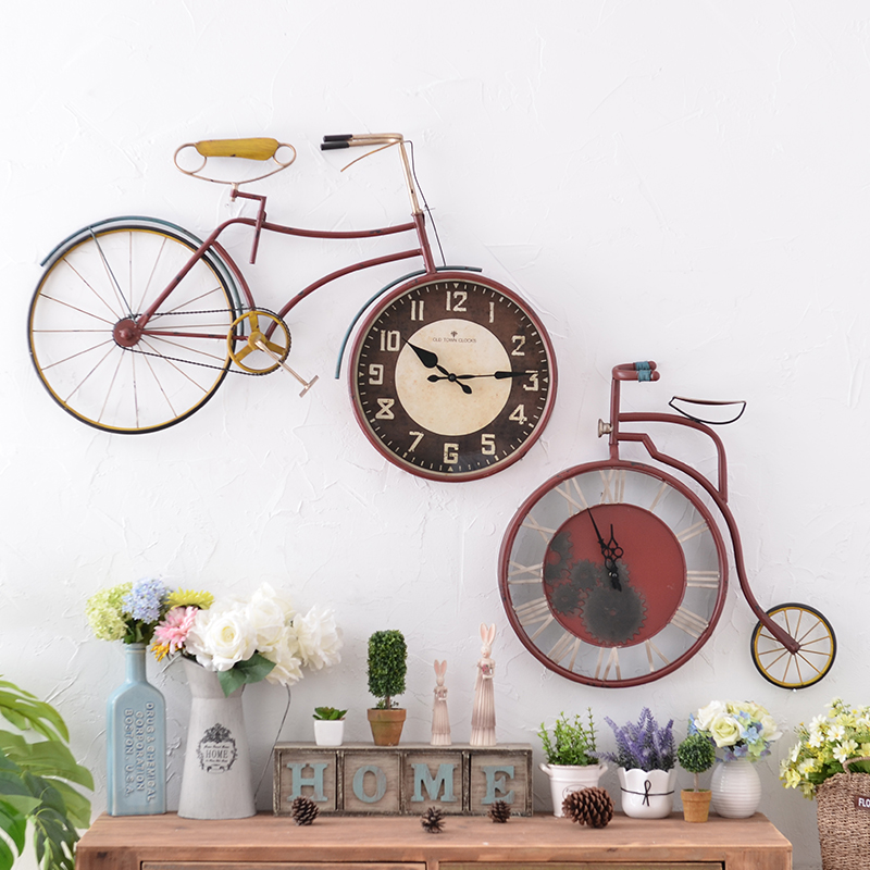 Buy American Home Living Room Wall Clock Bedroom Mute Wall Clock