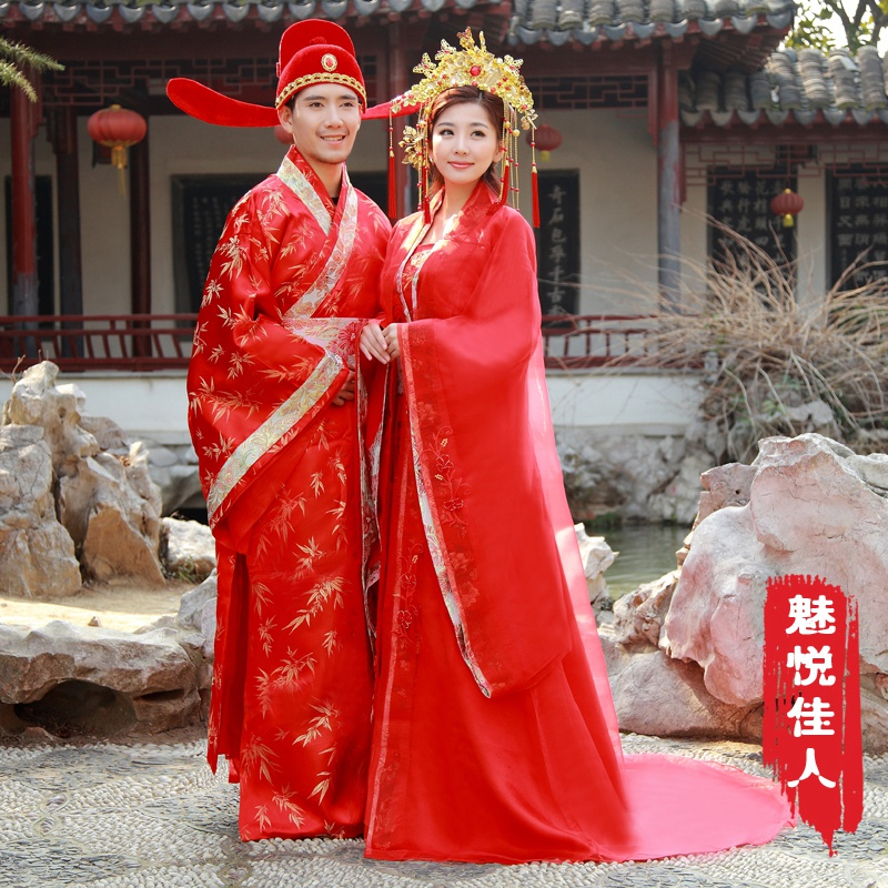 Buy Chinese style costume bride wedding dress trailing edge of your ...