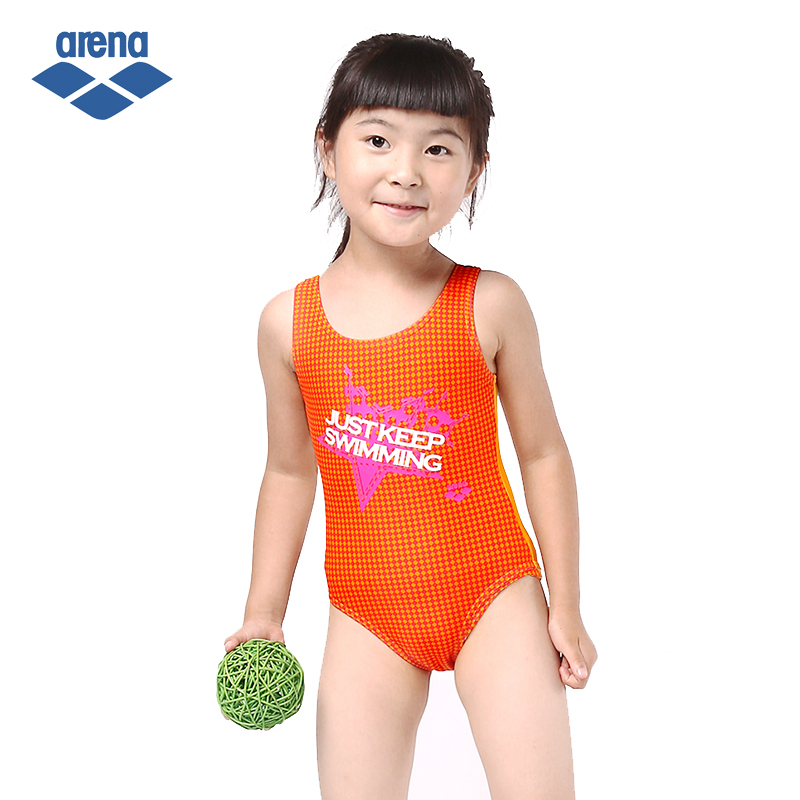 893f4b05d0 Buy Arena ariana children girls printing spa triangle piece swimsuit  swimsuit blue orange 9008 in Cheap Price on m.alibaba.com