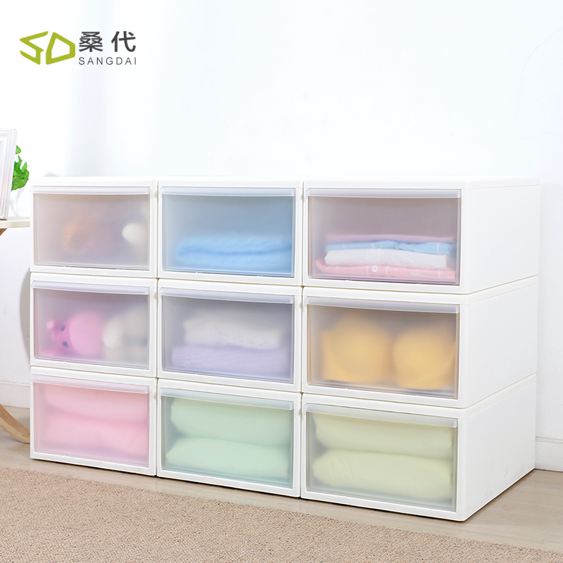 Buy Baby toy storage cabinets bathroom combination drawer ...