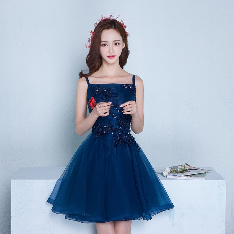 Banquet Evening Dress 2016 New Fashion Korean Version Of The Summer Bridesmaid Short Paragraph Host Birthday Party In Price On