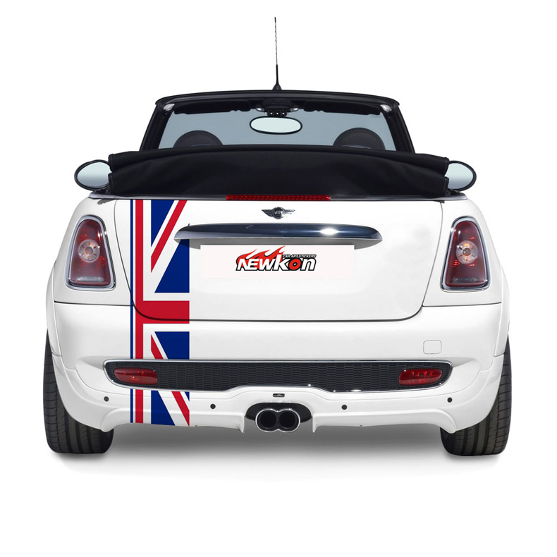 mini union jack stickers