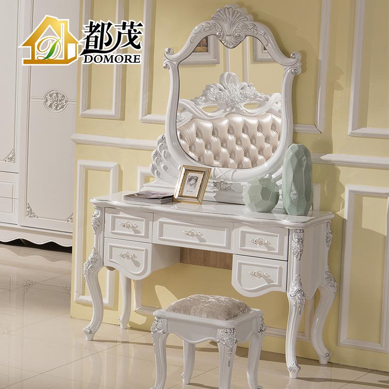 Buy Both Mao French Furniture European Solid Wood Dresser Bedroom Dresser  Dressing Table Mirror Pastoral Dresser White Makeup Vanity Cabinet In Cheap  Price ...