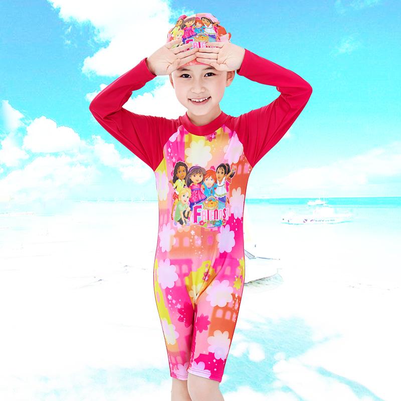 3b74dace5ba53 Buy Children long sleeve sun protection swimwear piece swimsuit girls  swimsuit baby swimwear baby girl swimsuit swimsuit sugan in Cheap Price on  m.alibaba. ...