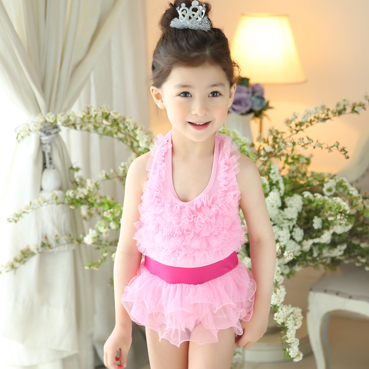 6096bfefab Buy Children piece swimsuit girls split skirt big virgin korean cute girls  female child swimsuit children's swimwear in Cheap Price on  m.alibaba.com