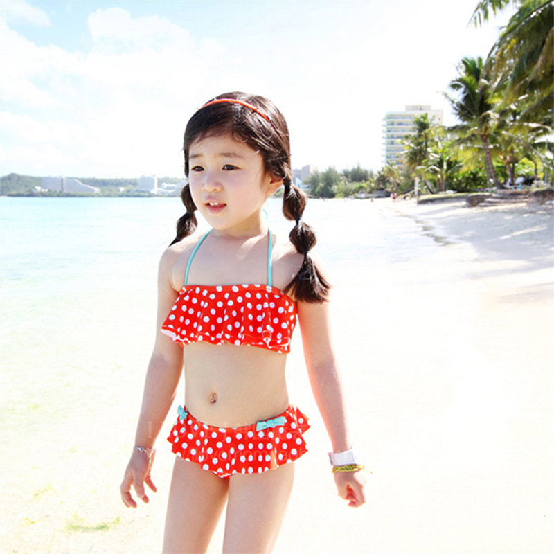 3fdb34ce29 Children spa swimsuit baby boy cute baby girls bikini swimsuit split skirt princess  shipping