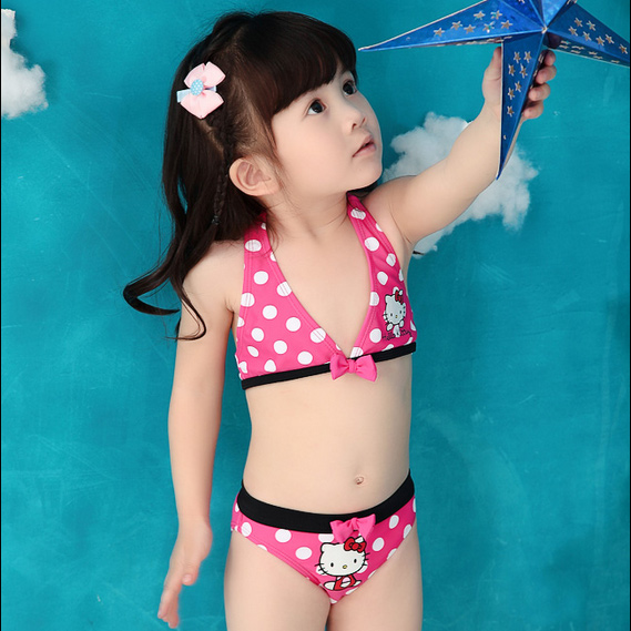 489b6495be Buy Children  39 s swimsuit girls split swimsuit bikini swimsuit korea  lovely princess suit hello kitty baby in Cheap Price on m.alibaba.com