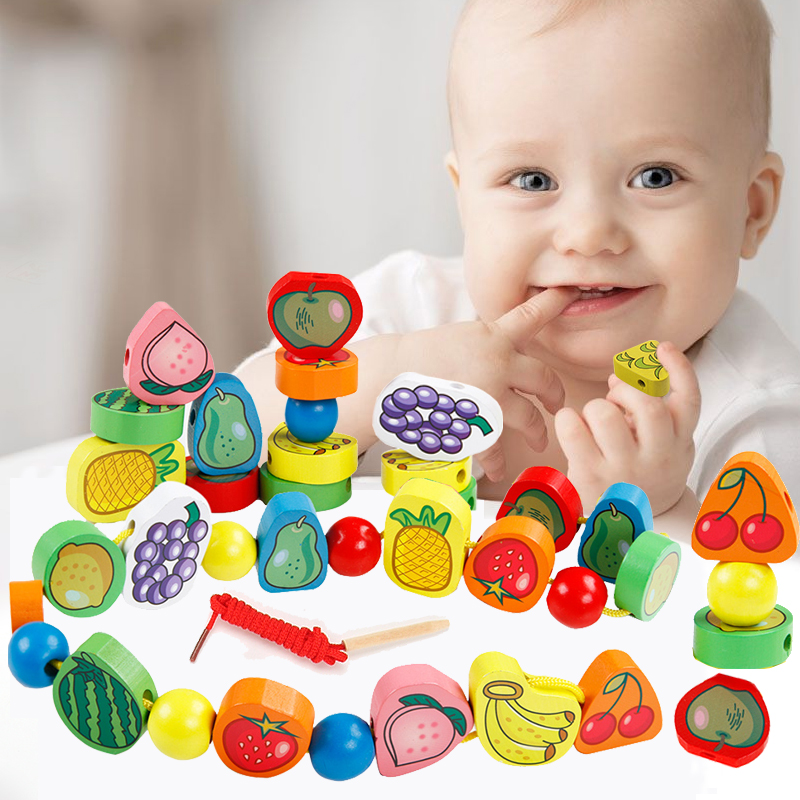 Buy Children39s Toys Beaded Beads Around The Large Wooden Beads