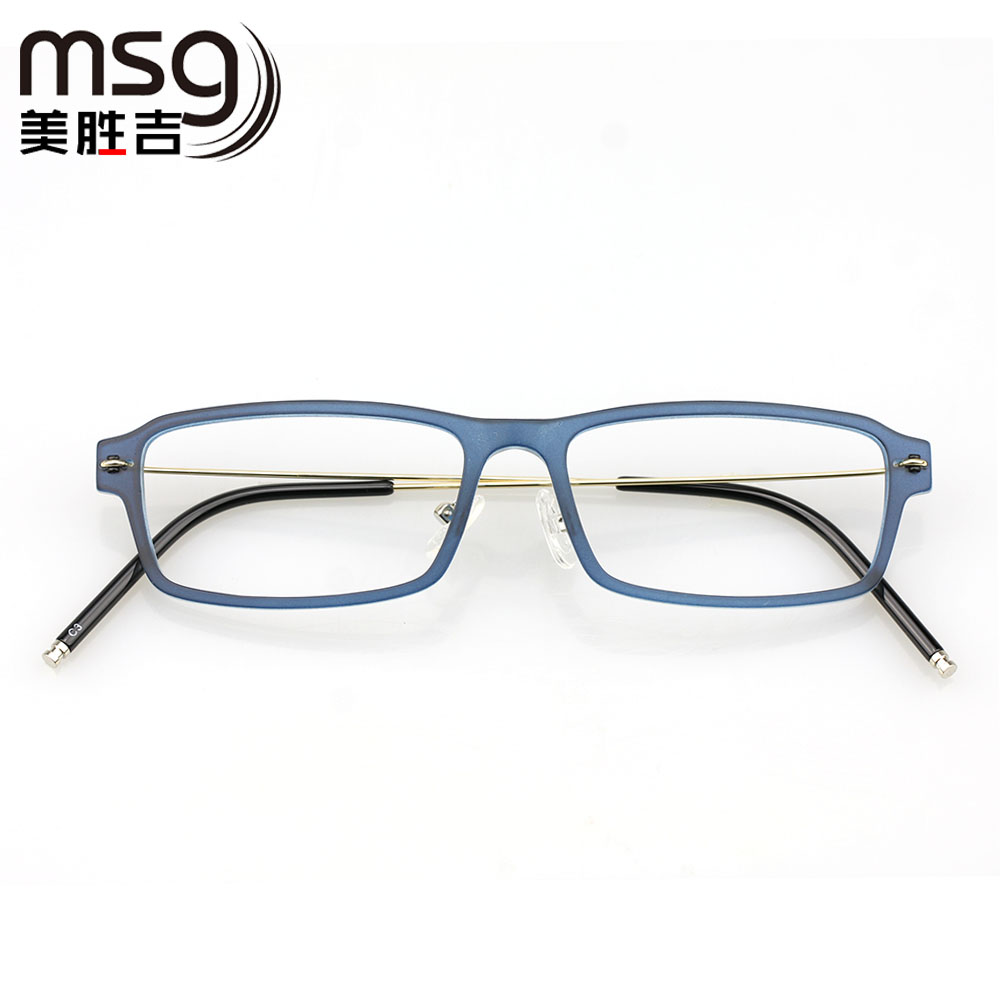 11d2ce189a Chromotropic glasses frame men finished myopia frame glasses frame female  models full frame optical glasses frame retro eye glasses frame big face  flat