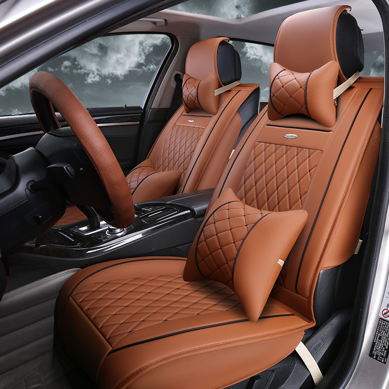 Buy Ya saddle four seasons leather car seat covers the whole package