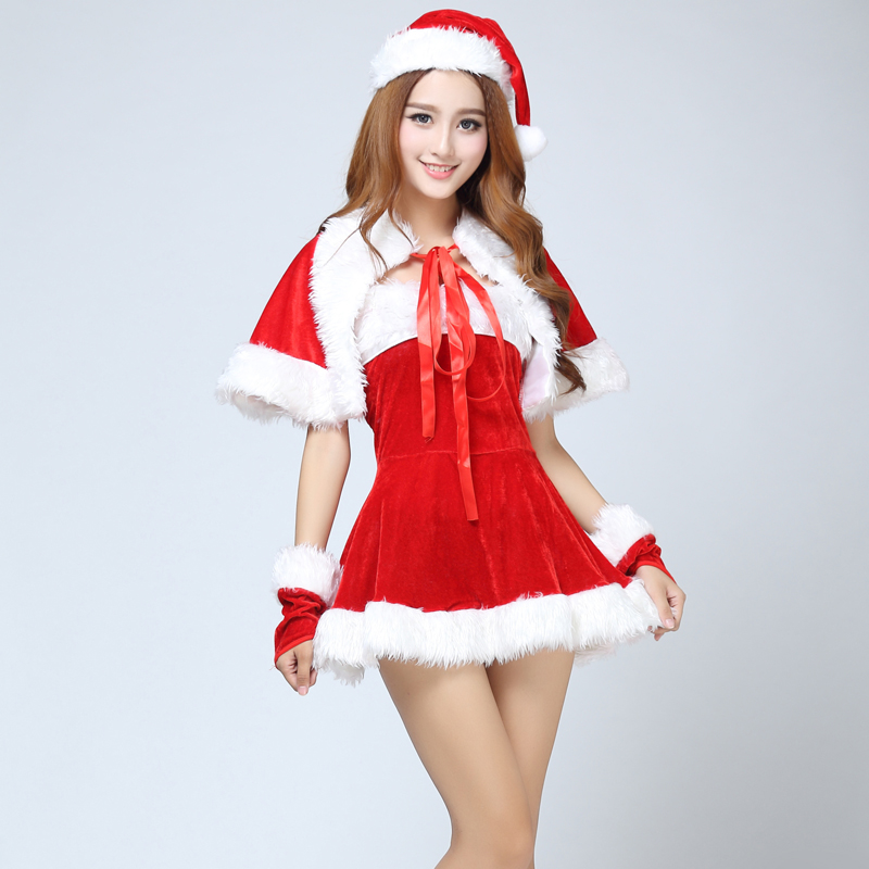 buy commodities yin luxury models sexy christmas dress christmas christmas christmas dress christmas party costume play clothes in cheap price on malibaba