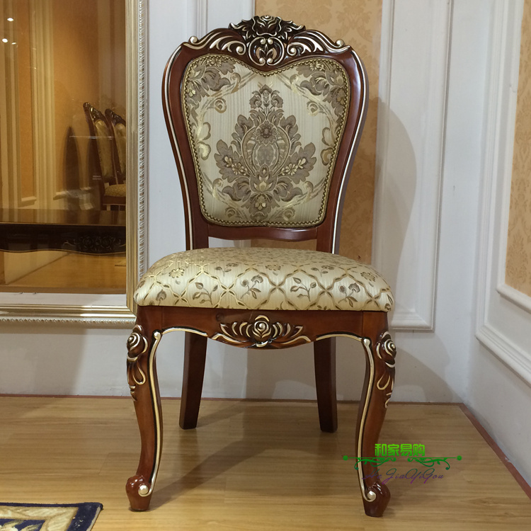 Buy Continental Carved Wood Dining Chair Dining Restaurant Continental Gilt  Gold Imported Oak Dining Chair Fabric Of American Dinner Chair In Cheap  Price On ...