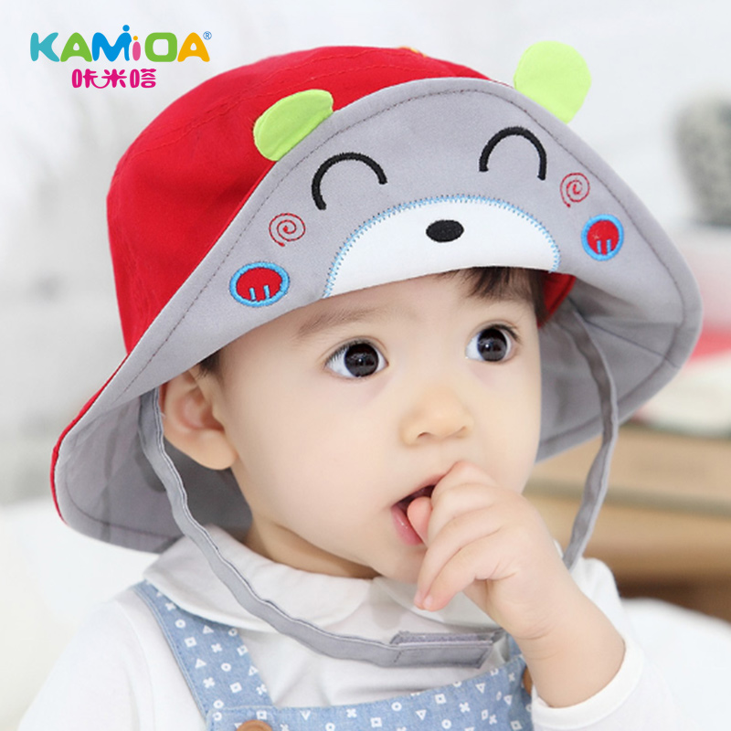 6ed4a410343a Buy Cracking meters despair female child hat baby hat spring tide male  baseball cap visor benn two to three years old cartoon figure in Cheap  Price on ...