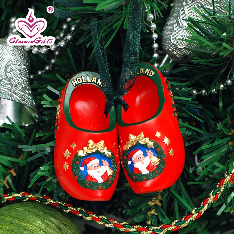 buy creative christmas eve christmas tree ornaments holiday ornaments dutch wooden shoes small ornaments birthday gift in cheap price on malibabacom - Shoe Christmas Ornaments