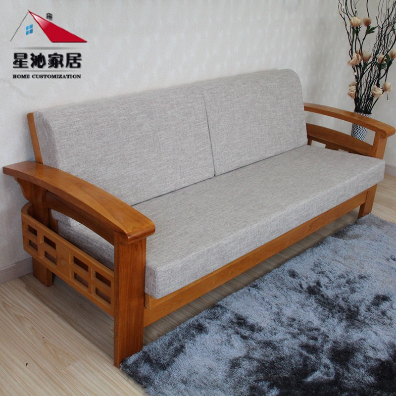 Custom Solid Wood Thick And Hard Sponge Foam Mattress Sofa Cushion Pad Windows High Density