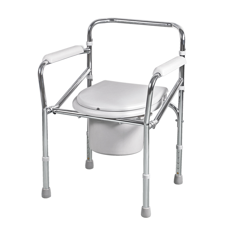 Buy Diving H022B pregnant adult toilet seat chair folding stainless ...