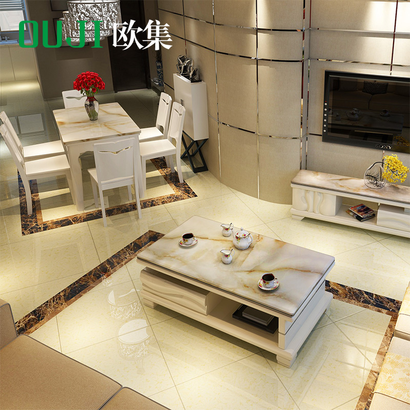 Buy European Marble Coffee Table Tv Cabinet Living Room Furniture Dining And Chairs Sets Suit Modern Combination In Cheap Price