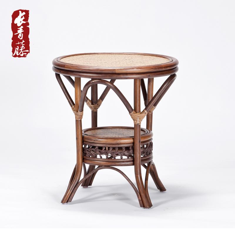 Evergreen Vine Rattan Garden Coffee Table Round Outdoor Balcony Living Room Den Creative Minimalist Small In Price On M Alibaba