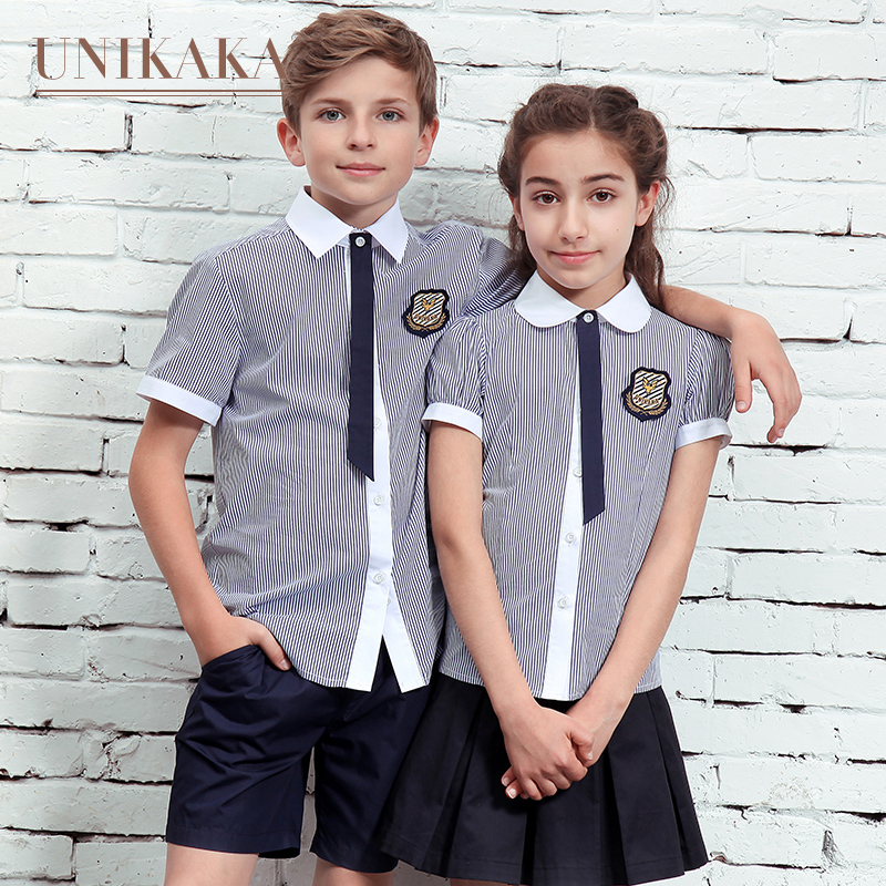 Excellent Ni Kaka Kindergarten Summer Dress Uniforms