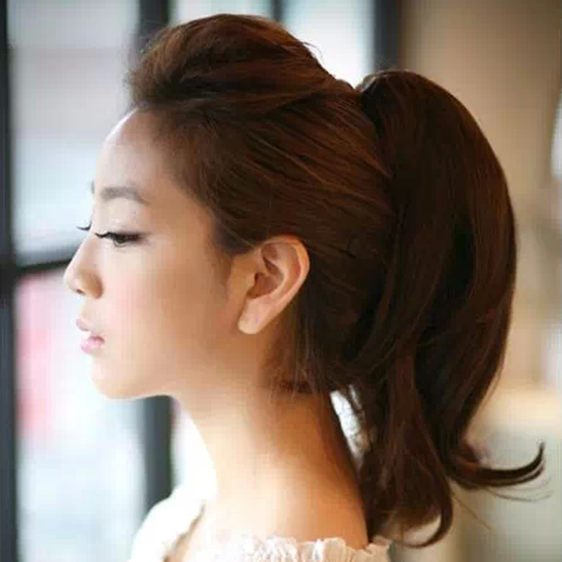 Buy Fake Ponytail Claw Clip Short Wig Pear Volume Volume Long Real