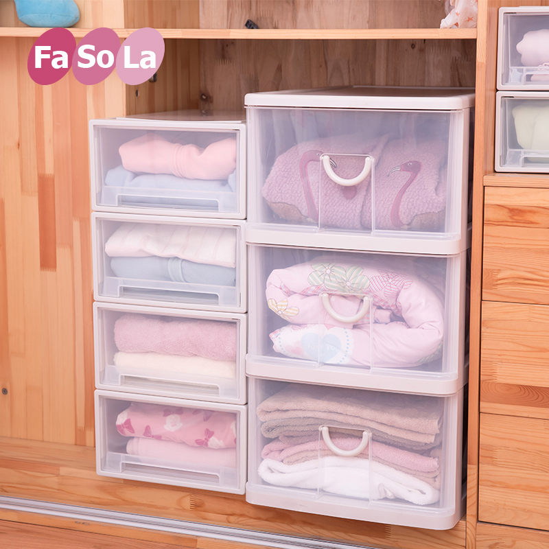 Buy Fasola thick plastic drawer storage cabinets baby baby wardrobe chest of drawers cabinet finishing cabinet storage lockers for children in Cheap Price ...  sc 1 st  Alibaba & Buy Fasola thick plastic drawer storage cabinets baby baby wardrobe ...
